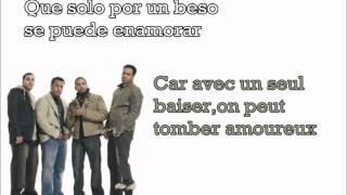 Aventura - Un beso - Traduction française