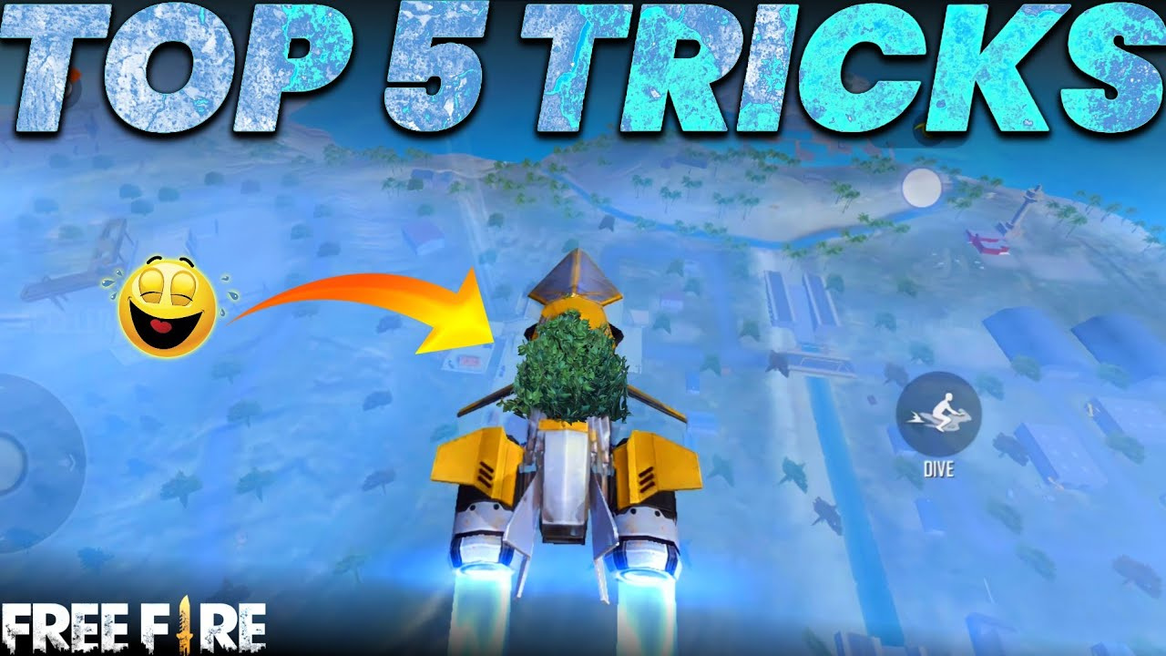 Top 5 unknown Tricks To surprise your friends and enemies || Most Rare Trick in free fire