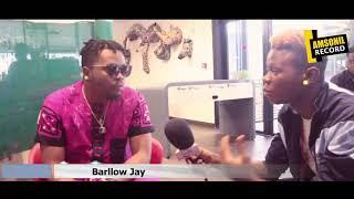 Amsonil tv Abidjan interview  Olamide Baddo