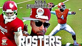 NCAA Football 14 PS3 + XB360 | How To Get New 2016 -2017 Rosters!