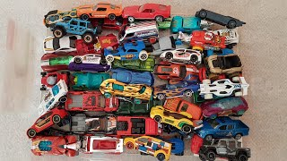 Video for Kids: Box full of Hot Wheels Cars Unboxing 50 toy Cars