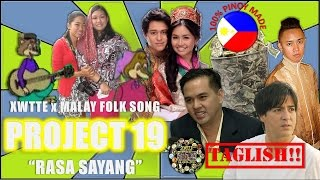 Rasa Sayang Malaysian Folk Song - in Boom Panis! Taglish