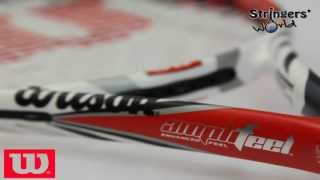 wilson steam 96 blx 2013 tennis racket review from stringers world