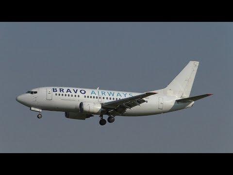 PLANE SPOTTING ROTTERDAM AIRPORT 28-6-2018 | BUMPY LANDING & BRAVO AIRWAYS!