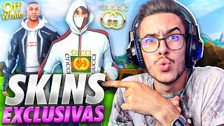 These are the *EXCLUSIVE SKINS* never seen from Fortnite... (HYPEBEAST)