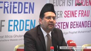 Ahmadiyya Muslims want planning permission to build Mosque in Chemnitz