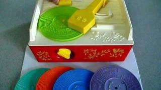 1971 Fisher Price Music Box • Record Player 480p