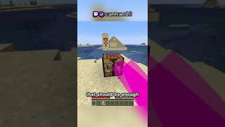 Minecraft, But I Can Only Touch Sand
