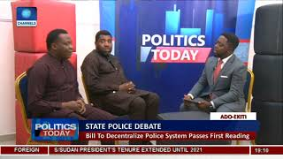 Kila Backs State Policing,Faults Police Control As Ezenwa Warns On Creation Without Mechanisms Pt.1
