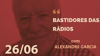 Lula e Moro no comentário de rádio desta quarta-feira