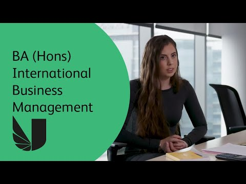 Ba Hons International Business Management At The University Of West London