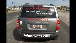 Myrtle Beach Moving Companies - Myrtle Beach Movers SC.