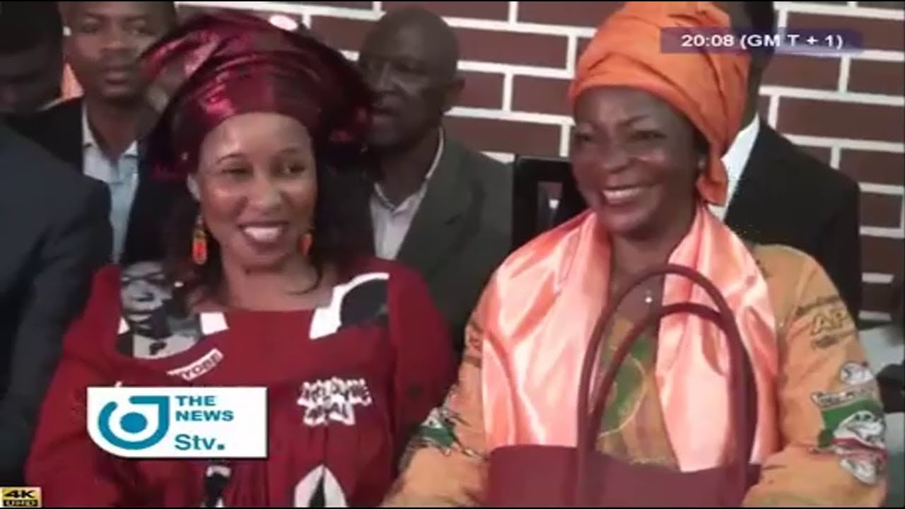 STV - THE 08:00 PM NEWS - (2018 PRESIDENTIAL : UPC SUPPORTS AKERE MUNA) - Monday 27th August 2018