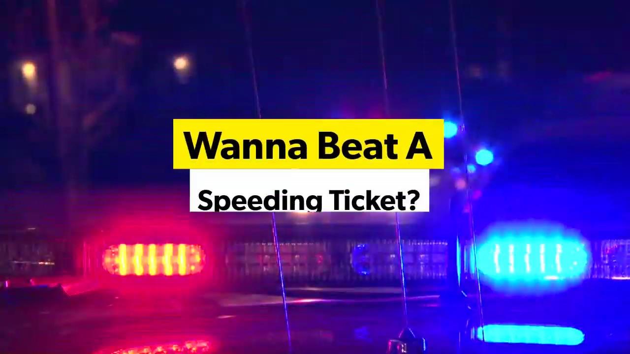 3 Ways To Beat A Speeding Ticket