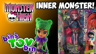 Monster High Inner Monster + Scared Silly Add-on Pack! Build Your Own! Review By Bin's Toy Bin