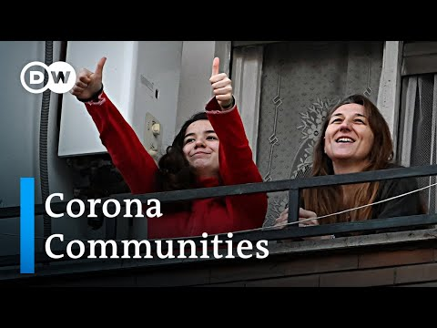 Coronavirus: How local communities support each other and keep their spirits up | DW News