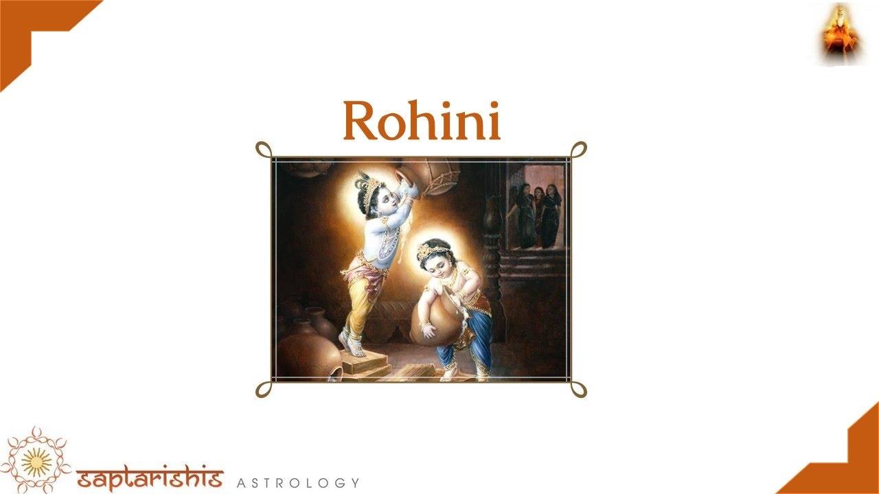Rohini Nakshatra -
