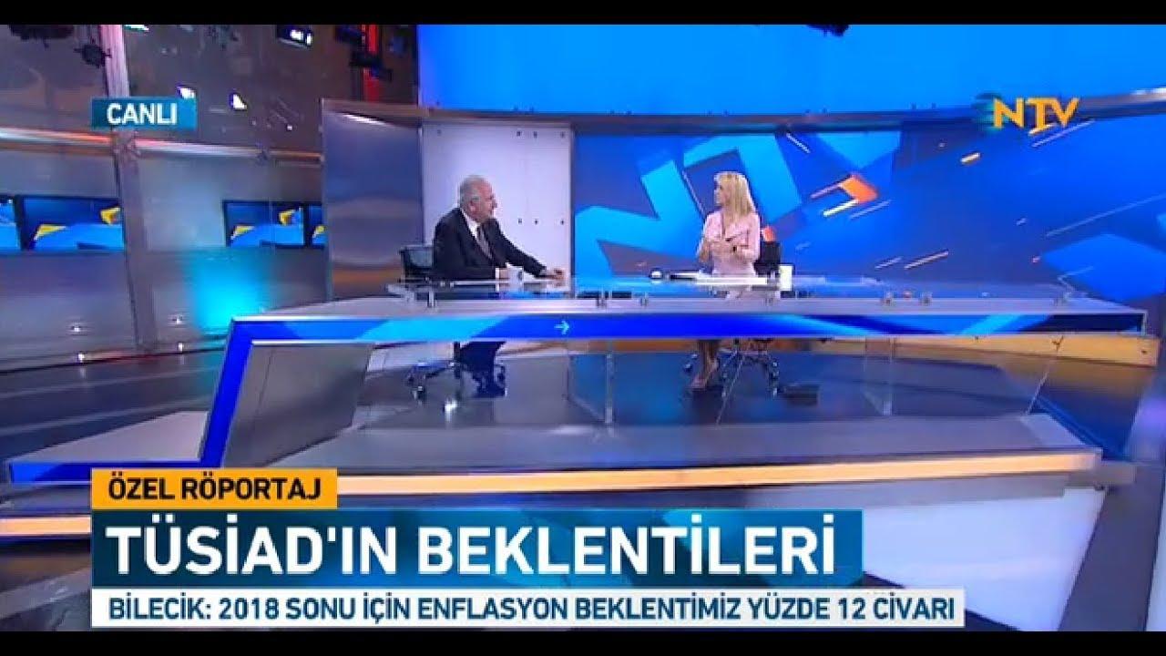 TÜSİAD Yönetim Kurulu Başkanı Erol Bilecik NTV'de Melda Yücel'in Özel Yayın Konuğu Oldu
