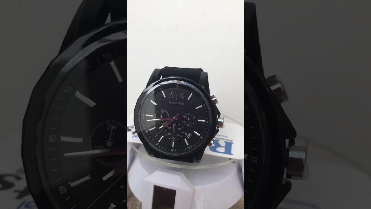 95fb86021b9 Relogio Armani Exchange - AX1326 na Loja RImports - YouTube
