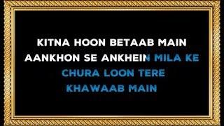 Wajah Tum Ho - Karaoke - Hate Story 3 - Armaan Malik