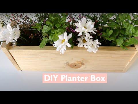 DIY Wood Tabletop Planter - HGTV Handmade