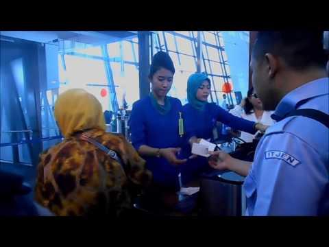 GT-FU #9. Jalur Z Keberangkatan Terminal 3 Ultimate Bandara S Hatta Jkt Mengajari Olah Raga & Sabar