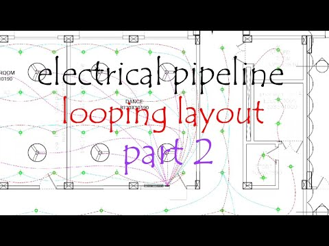 Electrical drawing!! Slab piping layout looping!! Drawing padhne ki  technique!! Part 2 - YouTubeYouTube