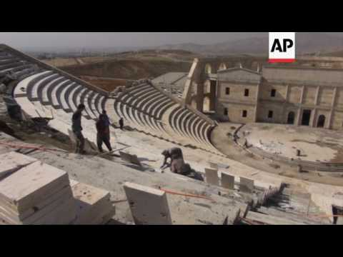Replica Roman Theatre takes centre stage in Sulaymaniyah
