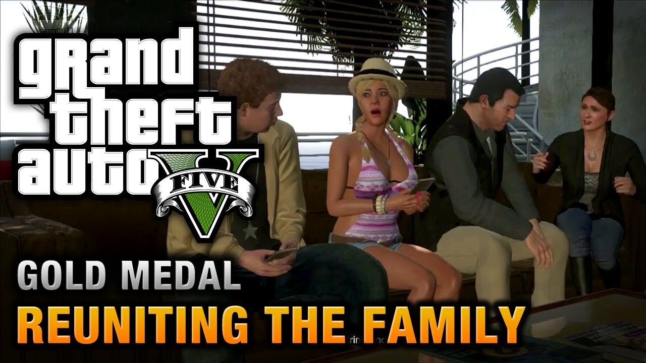 Girl play in gta and ridding toy - 1 part 8
