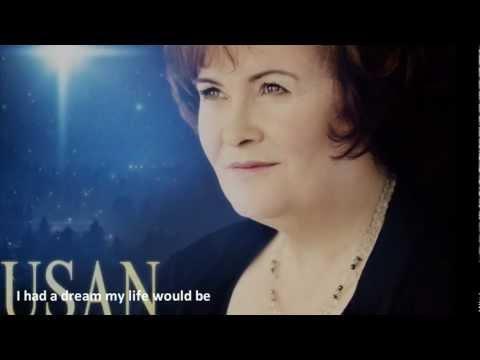 Susan Boyle - I dreamed a dream lyrics - New