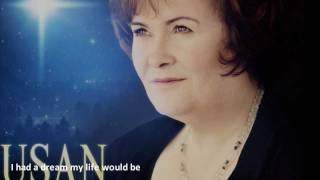 Susan Boyle - I dreamed a dream lyrics - New