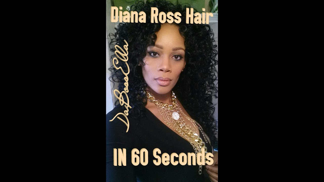 Outre Quick Weave Wendy 60 Second Diana Ross Look Youtube