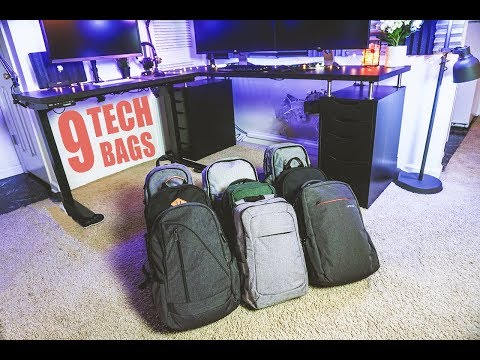 9 TECH BAGS in 90 Seconds!!