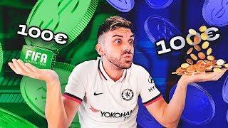 100 EUROS en FIFA POINTS en PS4 vs XBOX !!!