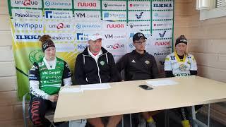 Lehdistötilaisuus 31.7.2019 Lappajärvi-Siilinjärvi