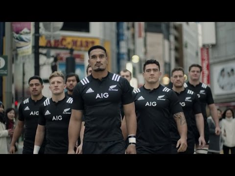 AIG Japan / #TackleTheRisk (All Blacks)