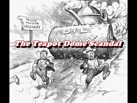 History Brief The Ohio Gang And The Teapot Dome Scandal Youtube
