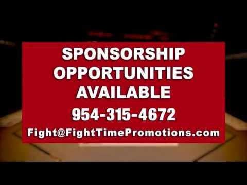 Fight Time Promotions' Sponsors