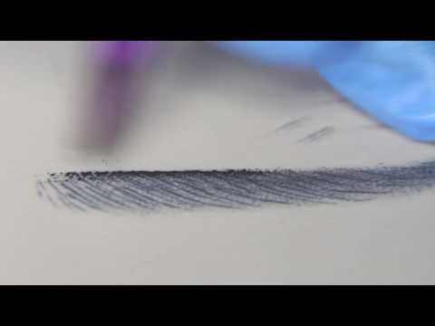 Волосковый татуаж бровей -
