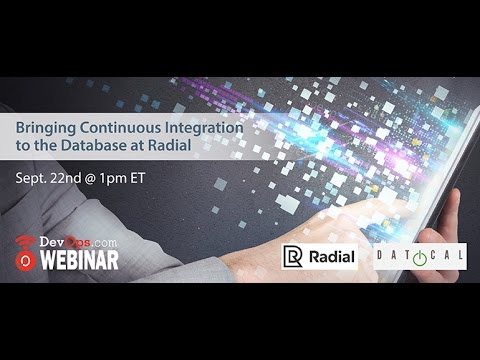 Bringing Continuous Integration to the Database at Radial