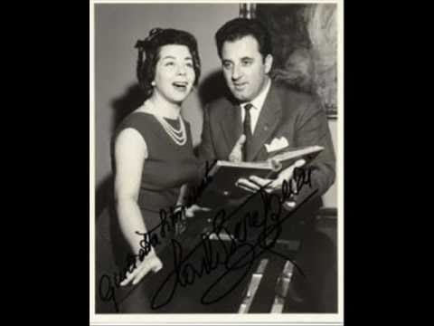 "Montserrat Caballe and Carlo Bergonzi Sings "" Parigi, o cara"""