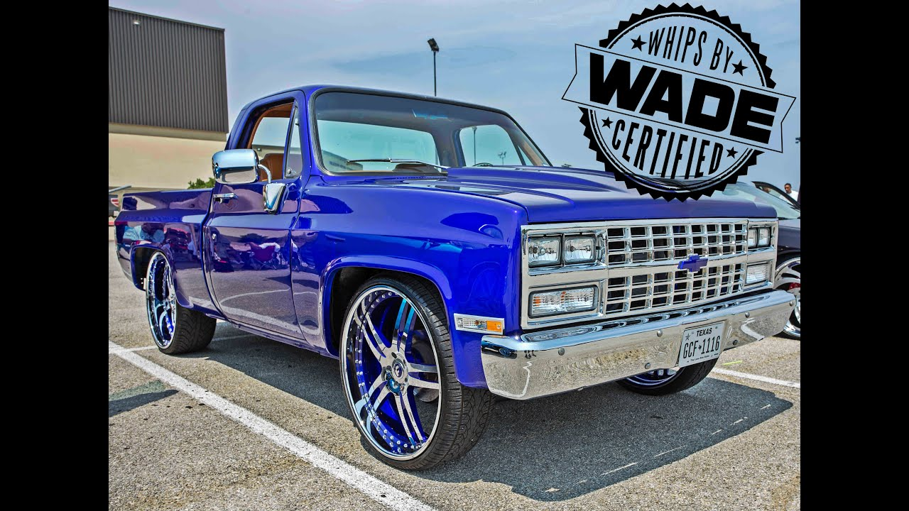 """Big Boys Customs Carshow : Candy Shortbed on 26"""" Forgiato ..."""