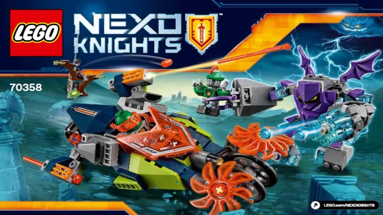 lego nexo knights 2017 aaron s destroyer 70358