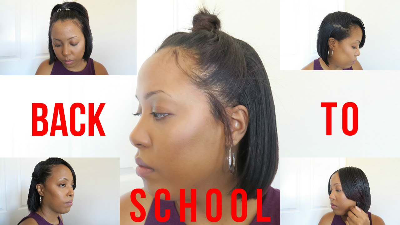 9 heatless back to school hairstyles: for relaxed and natural hair