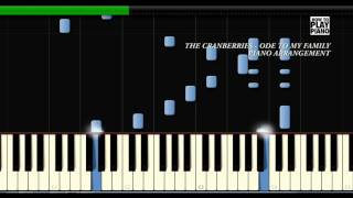 THE CRANBERRIES - ODE TO MY FAMILY - SYNTHESIA (PIANO COVER)