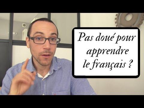 Que faire si vous pensez ne pas être capables d'apprendre le français ?