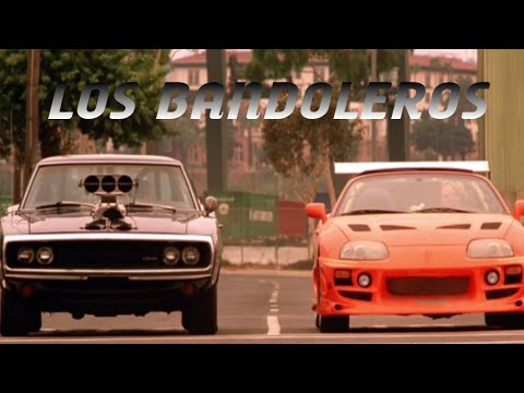 The Fast And The Furious Franchise, Bandolero Music Video, Don Omar Ft. Tego Caldèron