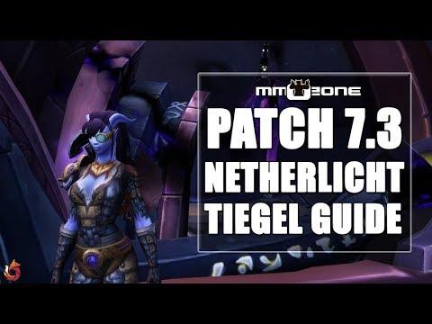 WoW Legion Patch 7.3 Netherlichttiegel Guide - Artefaktwaffen Schmiede zum Aufwerten der Relikte