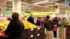 Flash mob @ Citymarket Savonlinna 20.12.2013