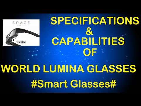 SPACE WEARABLE COMPUTER -  LUMINA GLASSES BY WORLD GLOBAL NETWORK